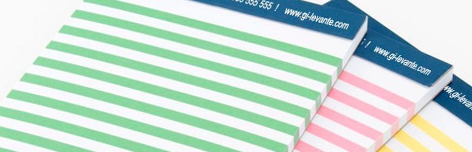 imprimir bloc de papel