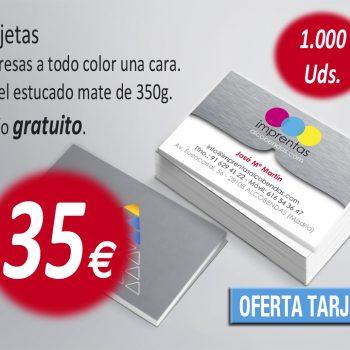 oferta tarjetas