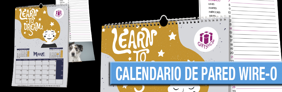 Calendario de Pared wire-o