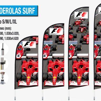 Banderolas Exteriores Surf