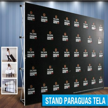 Stand Paraguas Tela