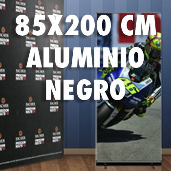 85X200 ALUMINIO NEGRO