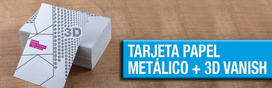 Tarjetas de Visita Metalizadas