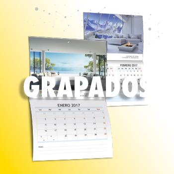 CALENDARIO DE PARED CON GRAPAS