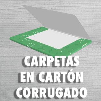 CARPETAS EN CARTON CORRUGADO