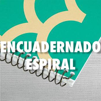 ENCUADERNADO ESPIRAL