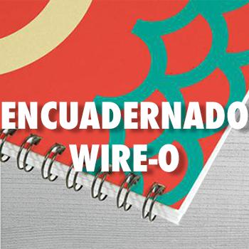 ENCUADERNADO WIRE-O