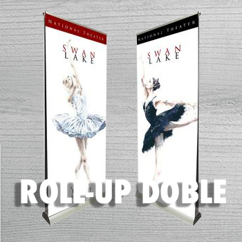 ROLL UP DOBLE CARA