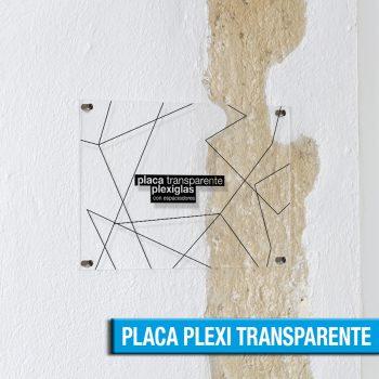 PLACA DE PLEXIGLAS TRANSPARENTE
