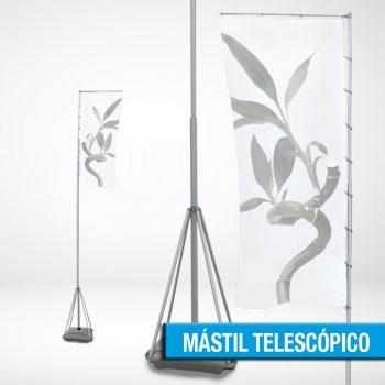 MÁSTIL TELESCÓPICO